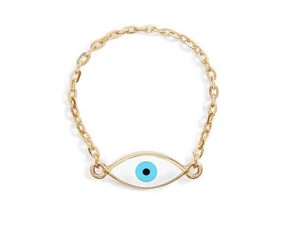 Evil Eye Ring By Mejuri Basics