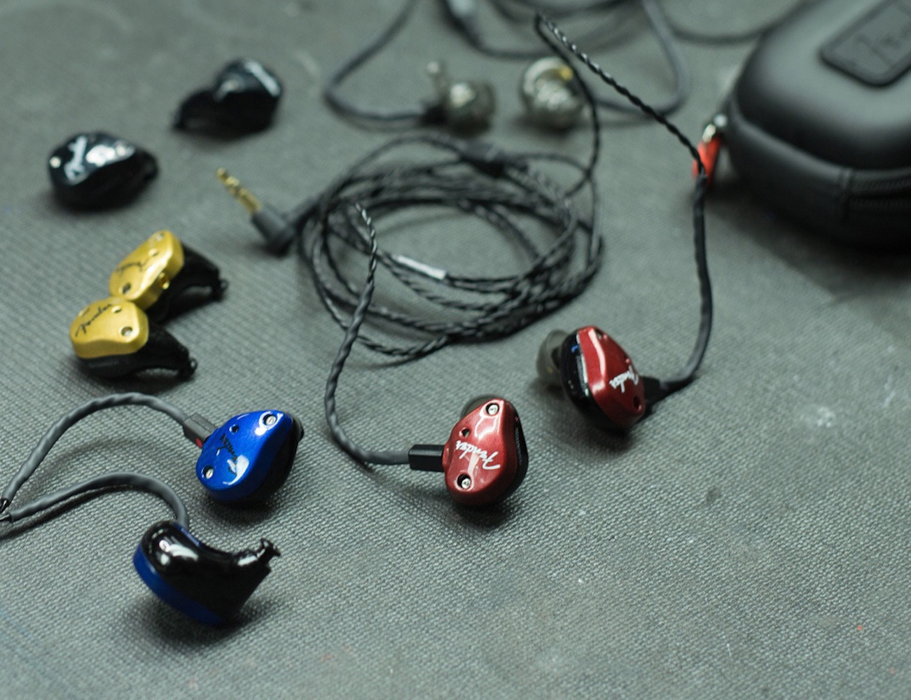 Fender+FXA6+Pro+In-Ear+Monitor+Headphones