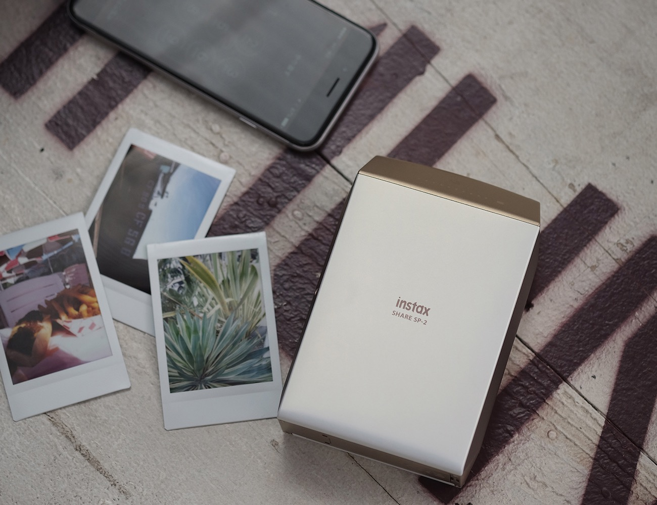 Fujifilm INSTAX SHARE SP-2 Instant Film Photo Printer