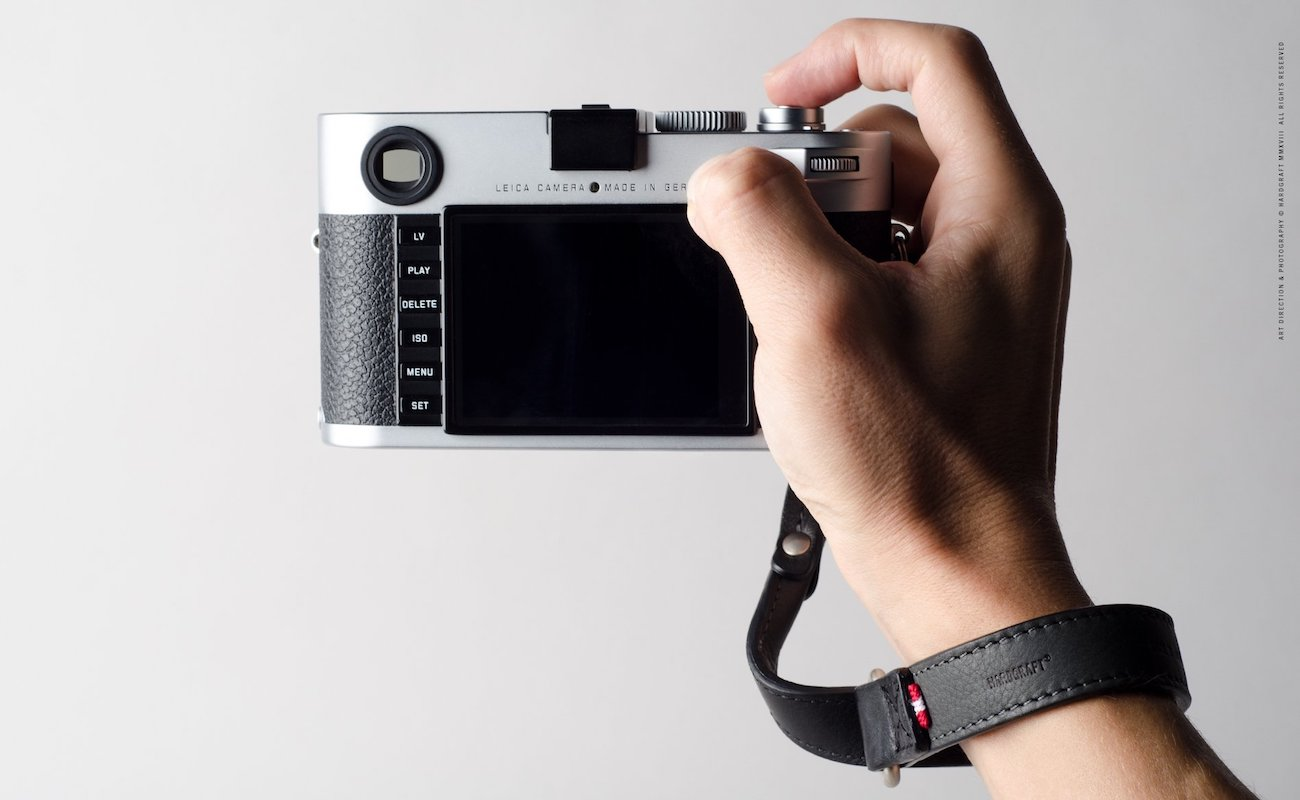 Hard Graft Slide Camera Wrist Strap