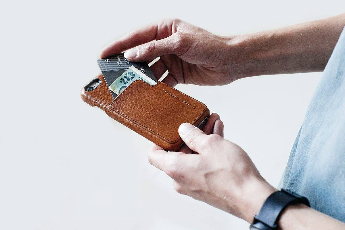 Hunter and Fox Phone Case and Wallet by Status Anxiety