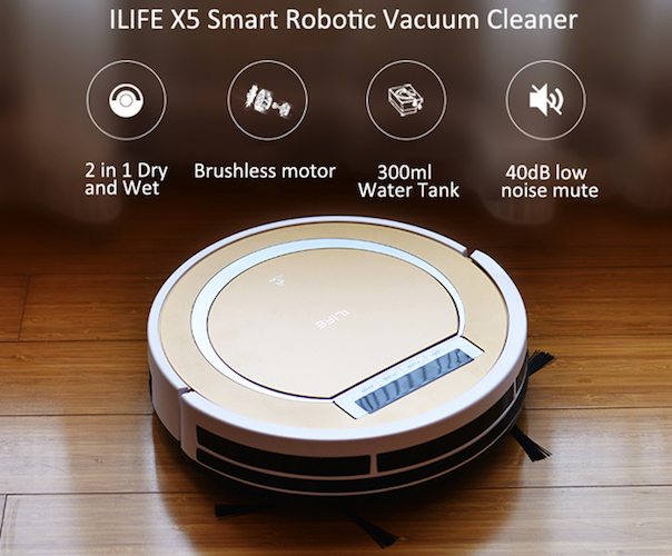 ILIFE X5 – Smart Robotic Vacuum Cleaner