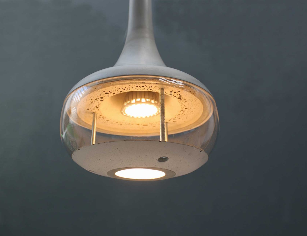IdeAL Concrete Ceiling Lamp