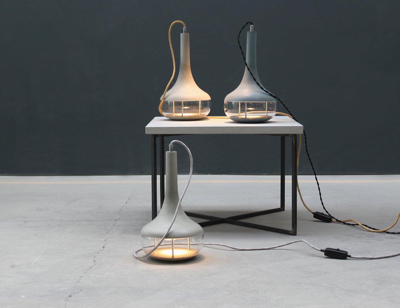IdeAL Concrete Ceiling Lamp