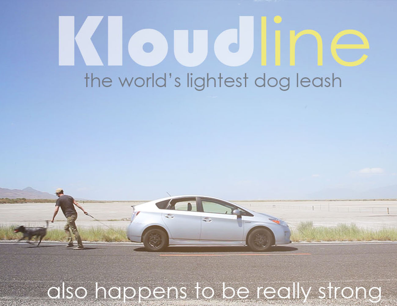 Kloudline – The World's Lightest Dog Leash