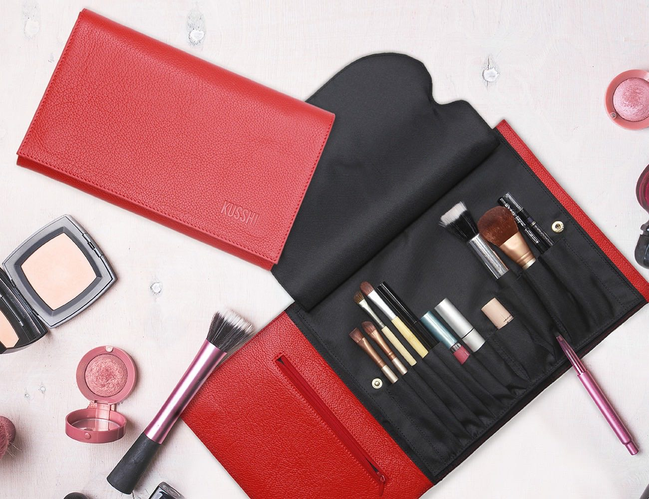 Kusshi – The Ultimate Makeup Bag