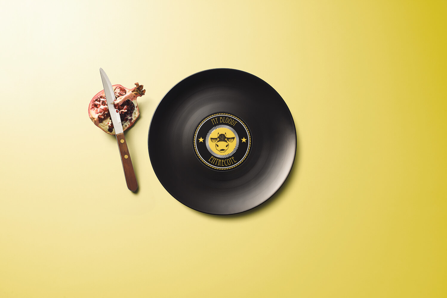 LONGPLATE – The First Vinyl-Inspired Porcelain Plate loading=