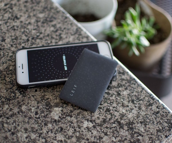 Leif Wallet-Tracking Card and App