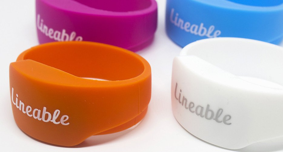 Lineable GPS Wristband for Kids