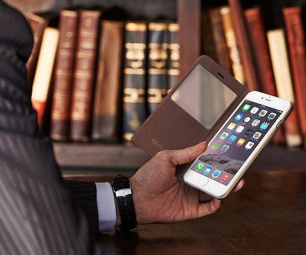 Lizard Grain Leather iPhone Case