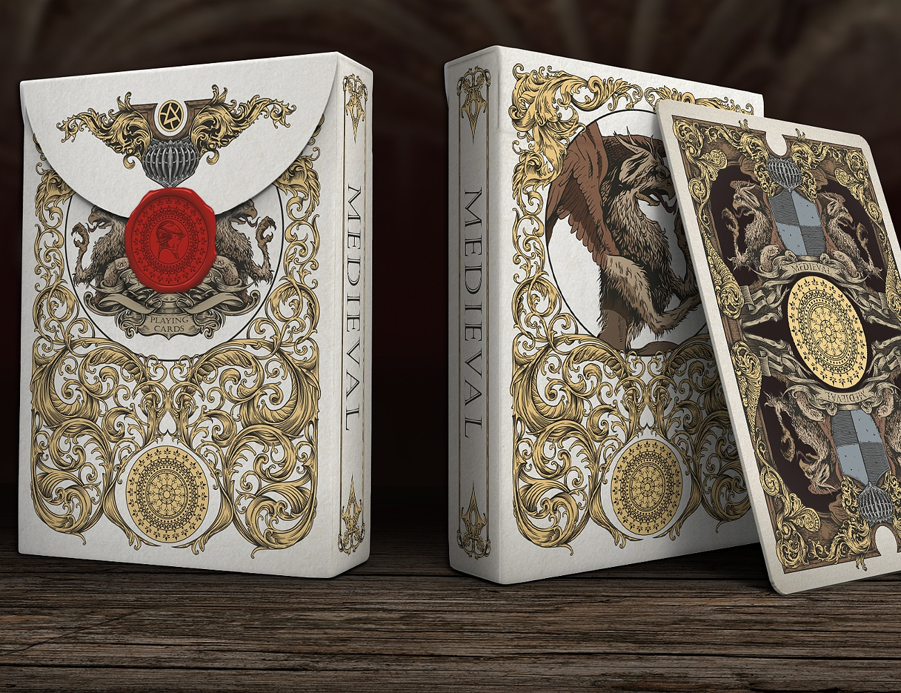 Medieval Playing Cards by Elephant Playing Cards