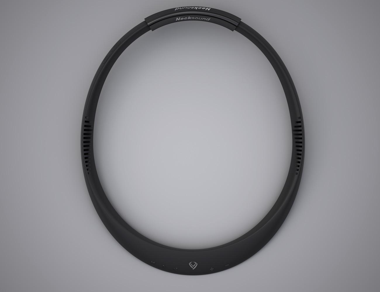 Necksound – Smart Wireless Necklace Wearable Music Device