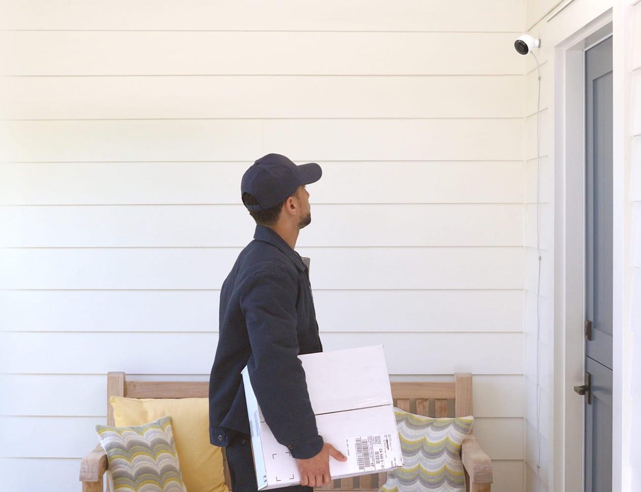 nest cam outdoor security camera gadget flow. Black Bedroom Furniture Sets. Home Design Ideas