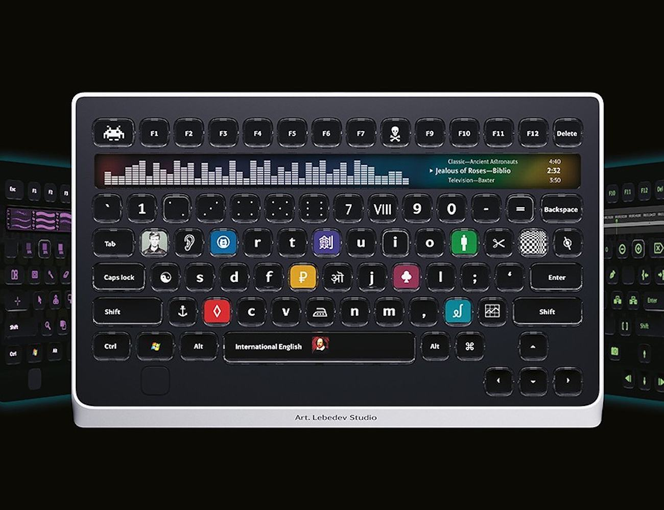 Optimus Popularis Interactive Keyboard