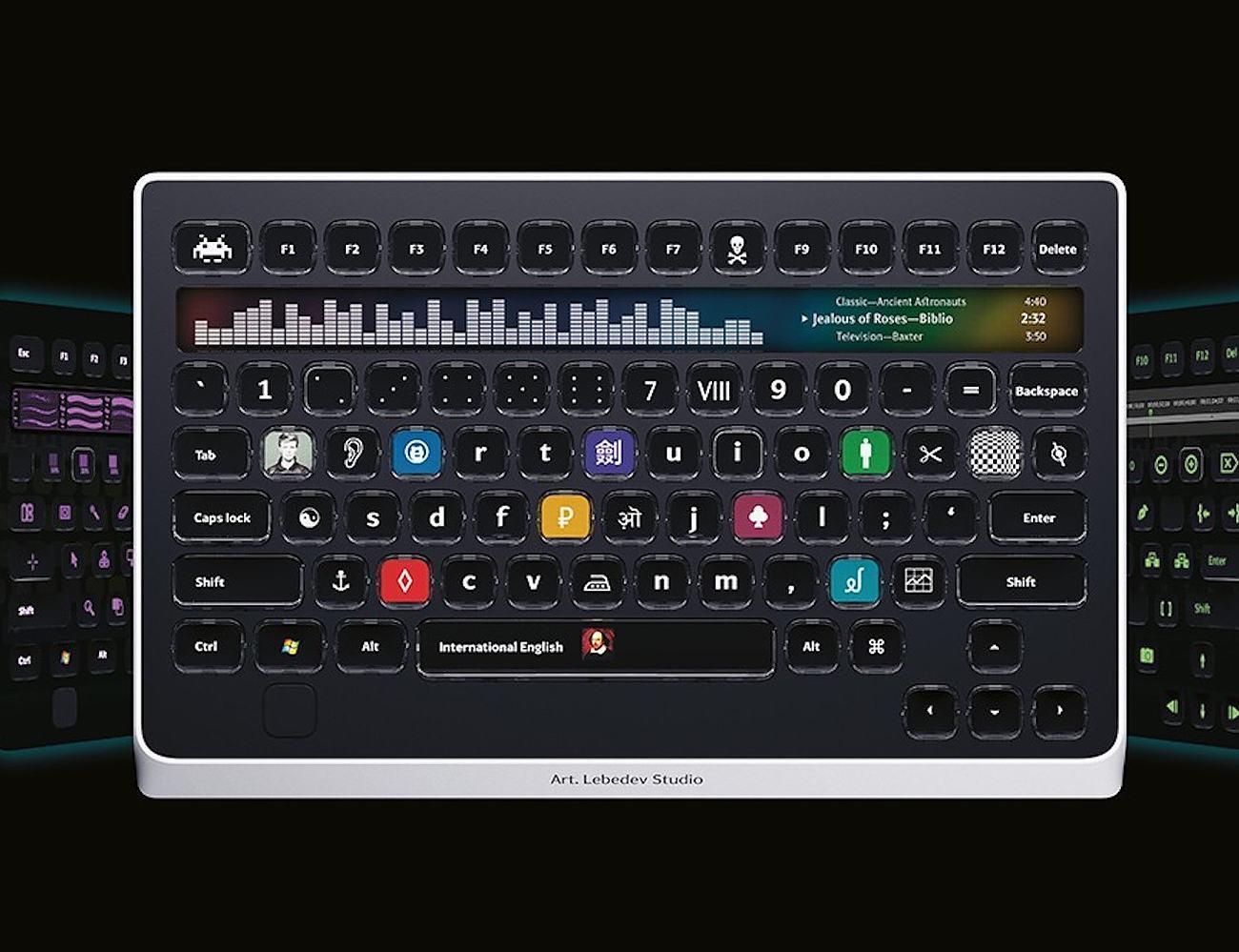 Optimus Popularis Interactive Keyboard
