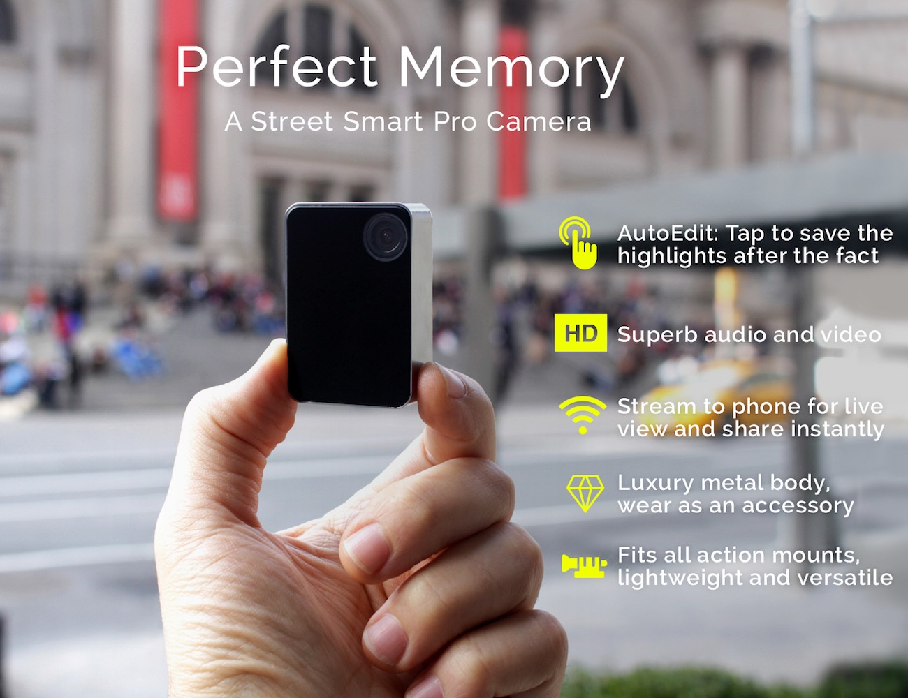 Perfect Memory Camera – Precision Built, Pro Grade
