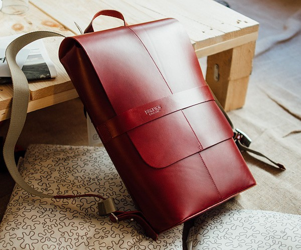 Piccadilly Leather Day Pack by Brooks