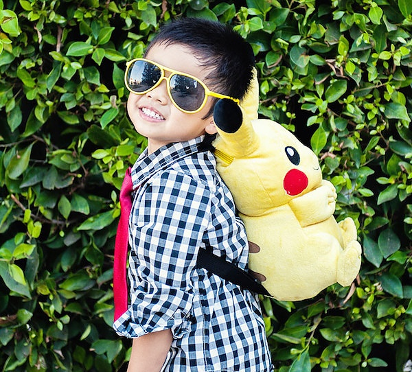 Pikachu Backpack By Pixics
