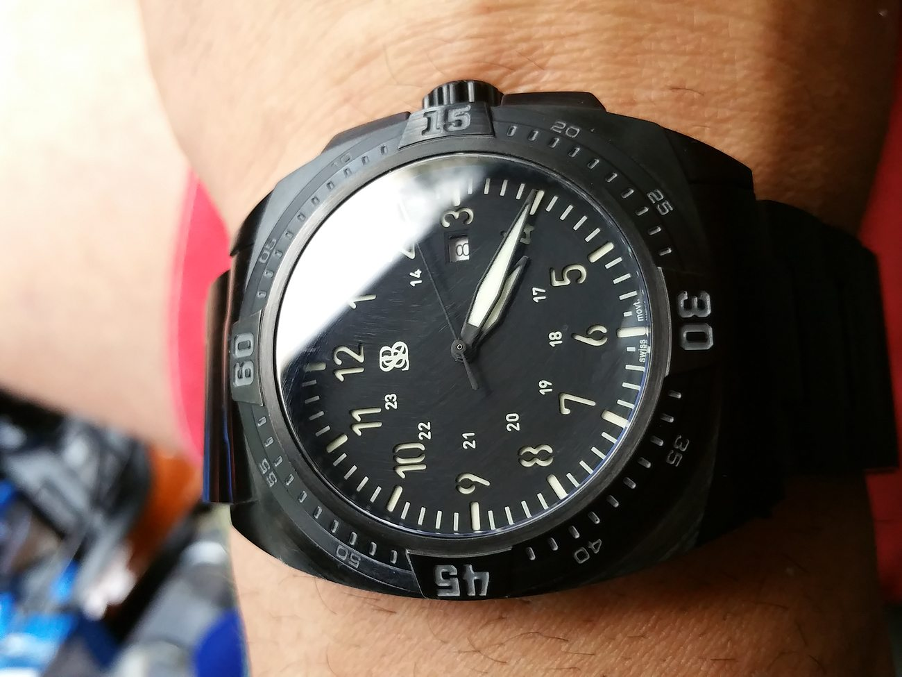 SANS-13 Evolution Watch By Smith&Bradley