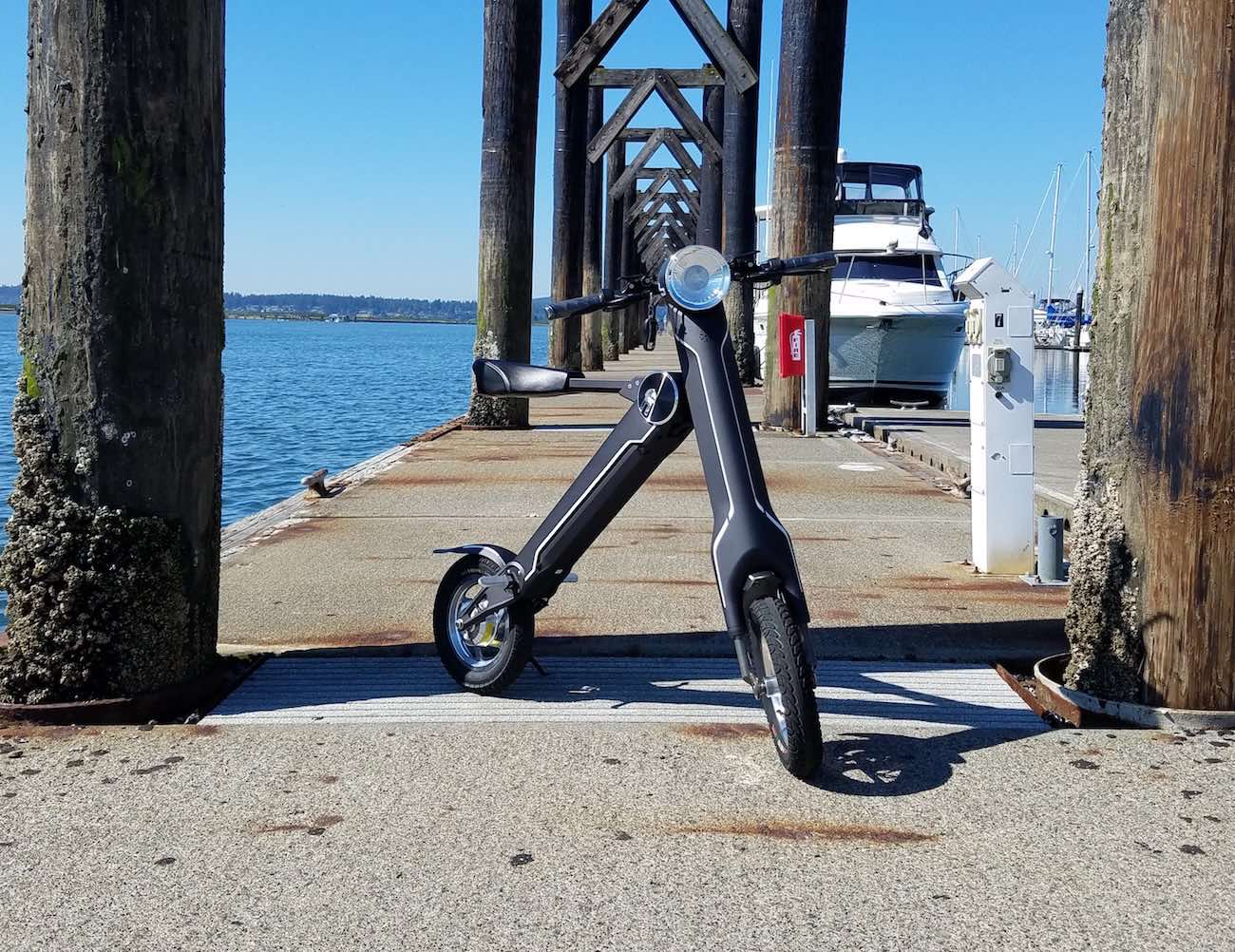 ScootMatic – Foldable Electric Bike and Scooter Combo