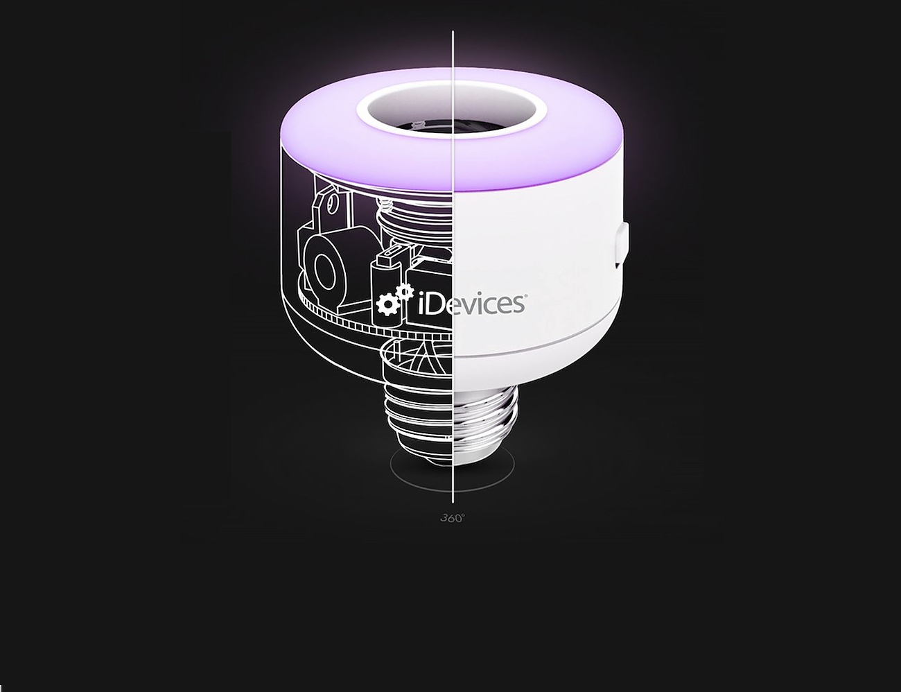 Socket Connected Lightbulb by iDevices