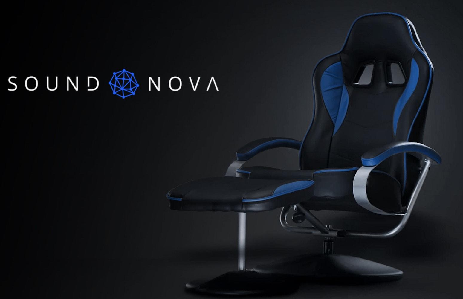 SoundNova – A Futuristic Interactive Chair