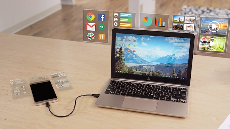 Superbook Is a Plugin Laptop for Your Smartphone