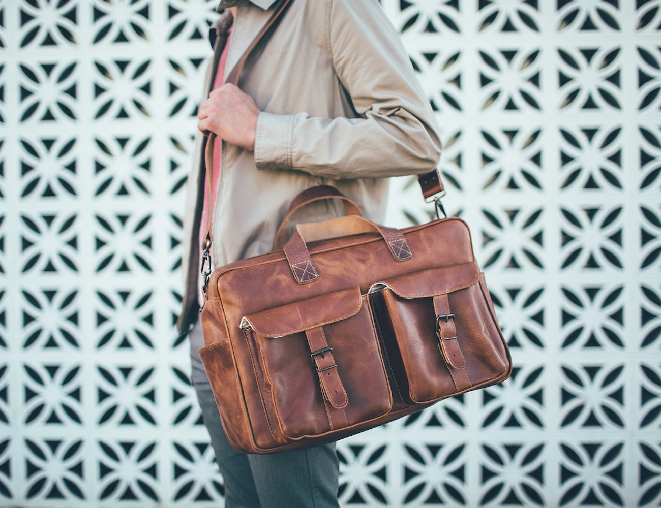 The Ryan Traveler Bag by Brothers Leather Supply Co