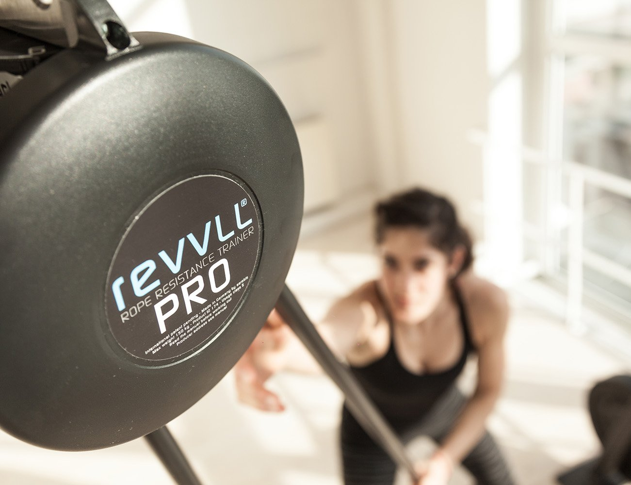 The revvll® PRO – Rope Resistance Trainer