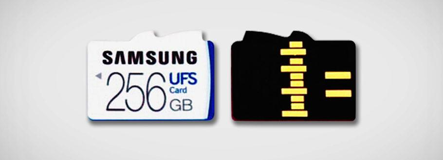 Samsung's New UFS Memory Cards are Five Times Faster Than MicroSD
