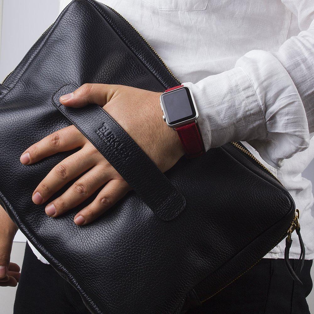 Vintage Leather Laptop Bag by Burkley