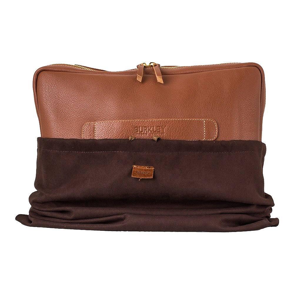 Vintage Leather Laptop Bag by Burkley - 87.5KB