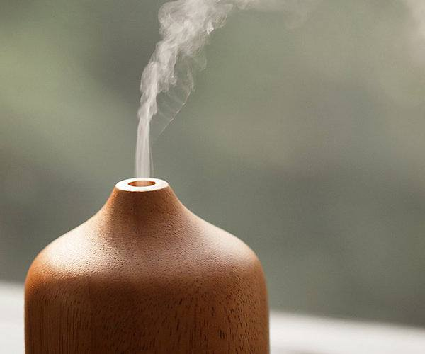 Wooden Humidifier and Essential Oil Diffuser