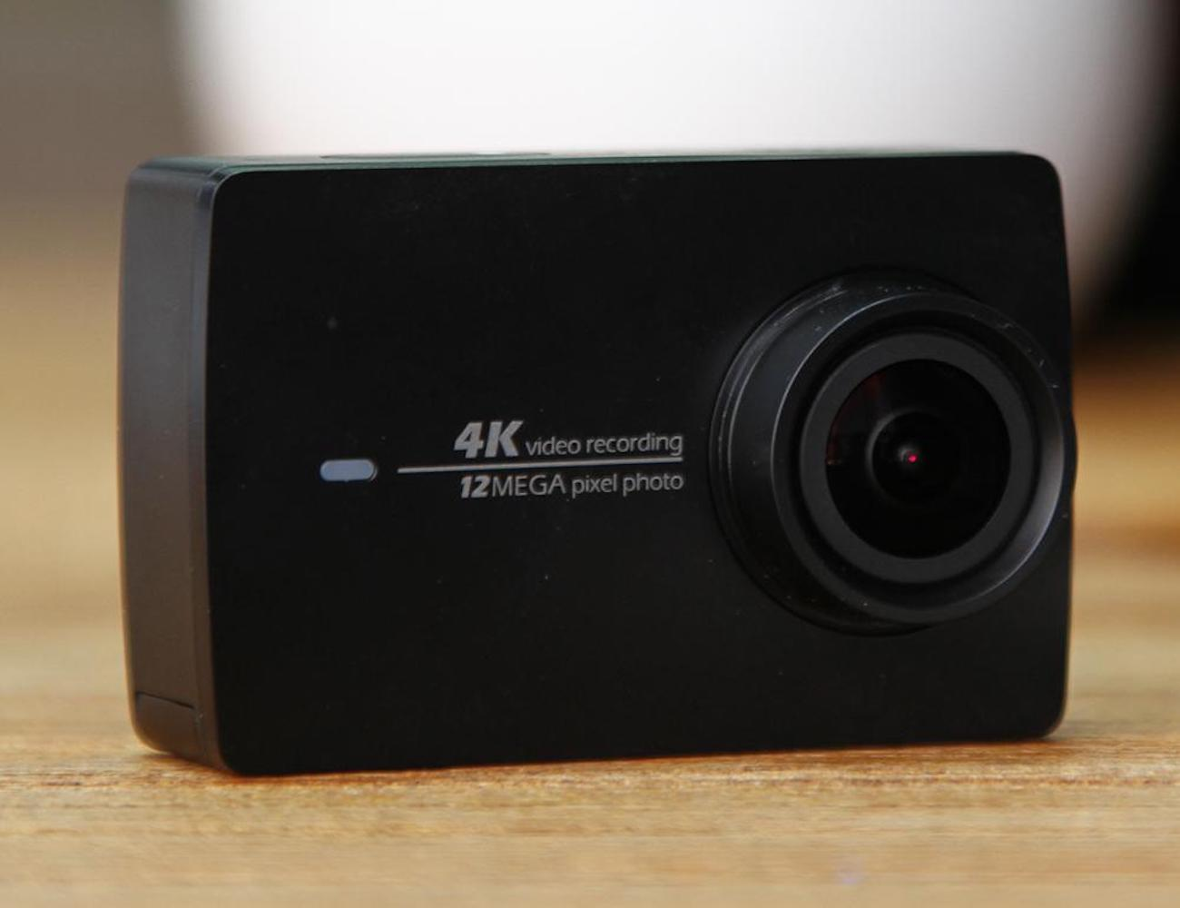YI 4K Action Camera Compact Activity Camera gives you detailed footage