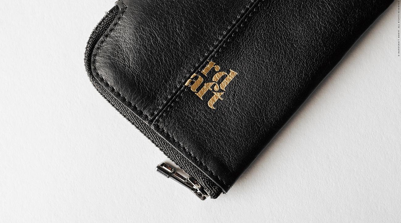 Zip Key Holder by Hard Graft