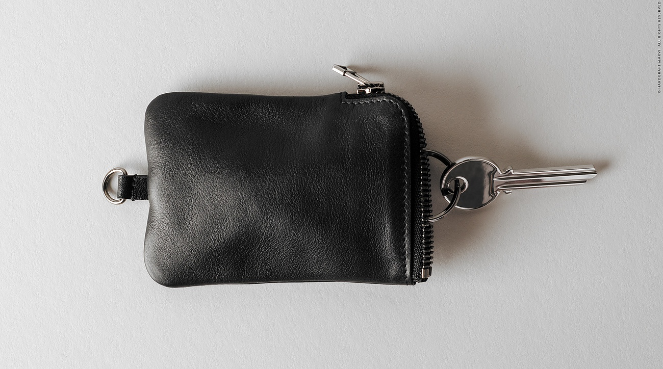 Zip Key Holder by Hard Graft