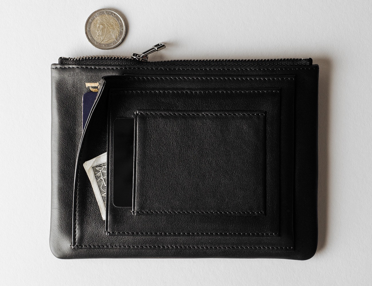 Zip Passport Wallet by Hard Graft