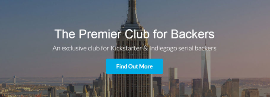 Interview With BackerClub – The Premier Club For Crowdfunding Backers