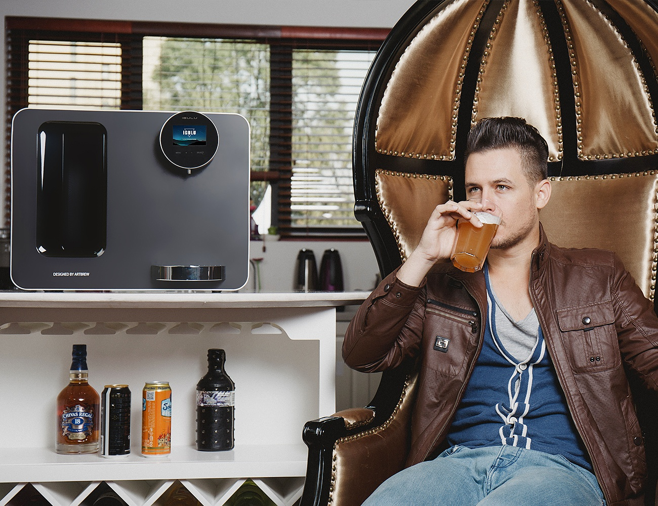 iGulu – Smart, Automated Craft Beer Home Brewery
