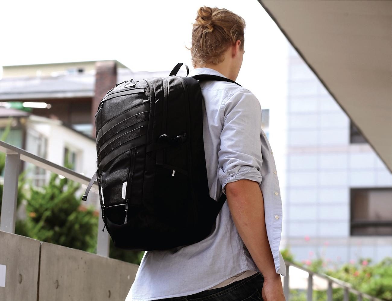 The Most Versatile Backpack With A.B.C. Functions