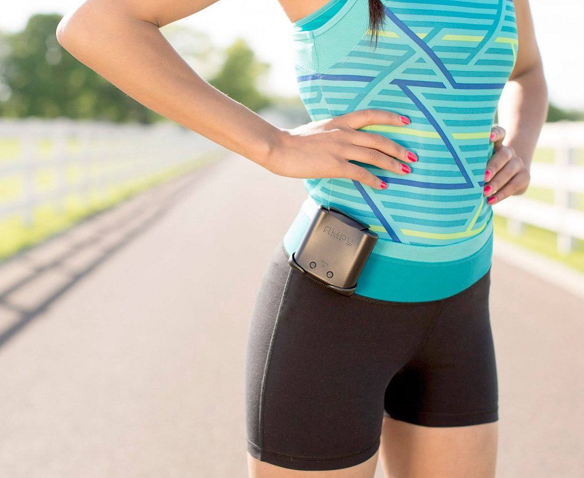 AMPY MOVE – The World's First Wearable Motion Charger