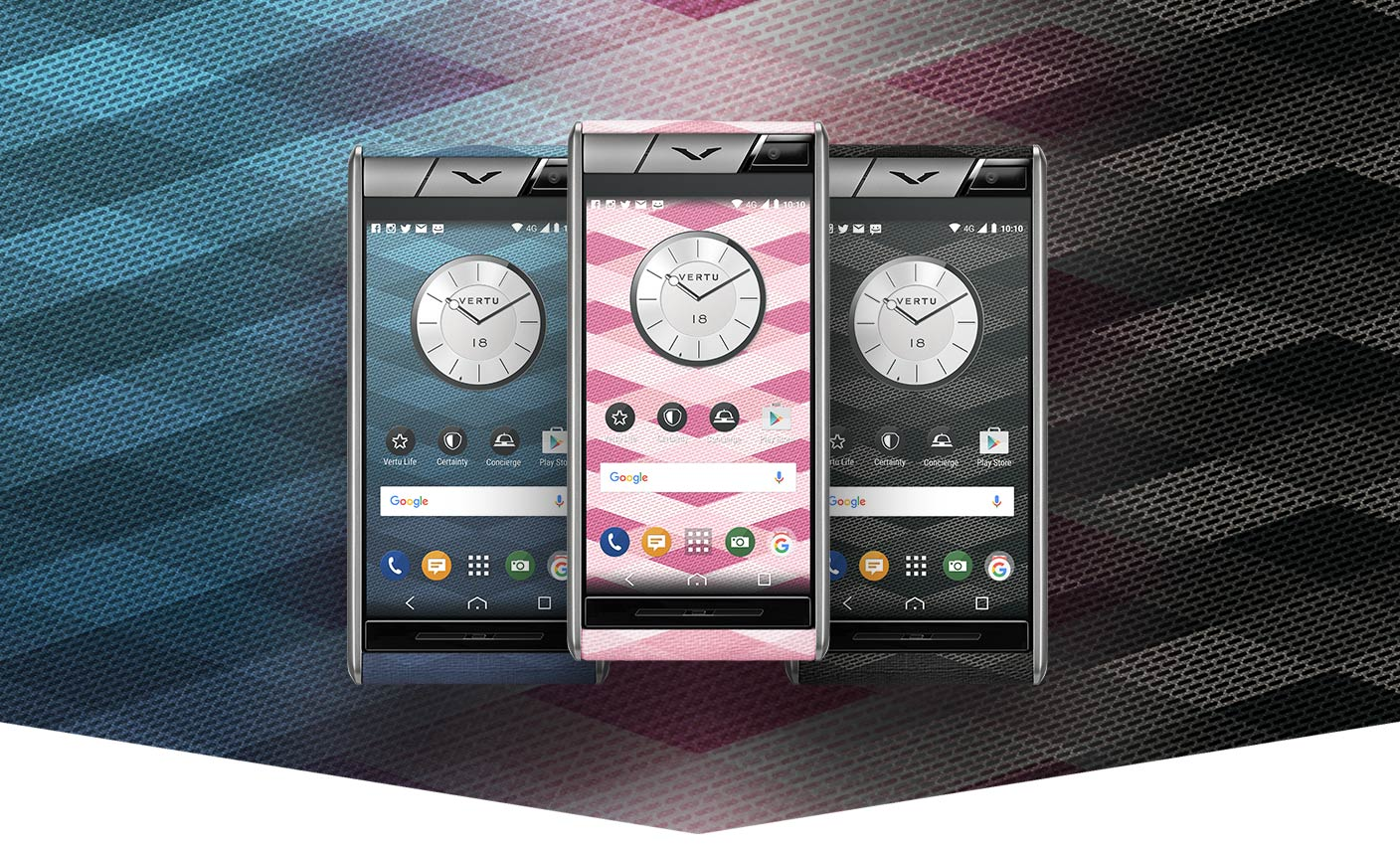 Aster+Chevron+Smartphone+Collection+By+Vertu
