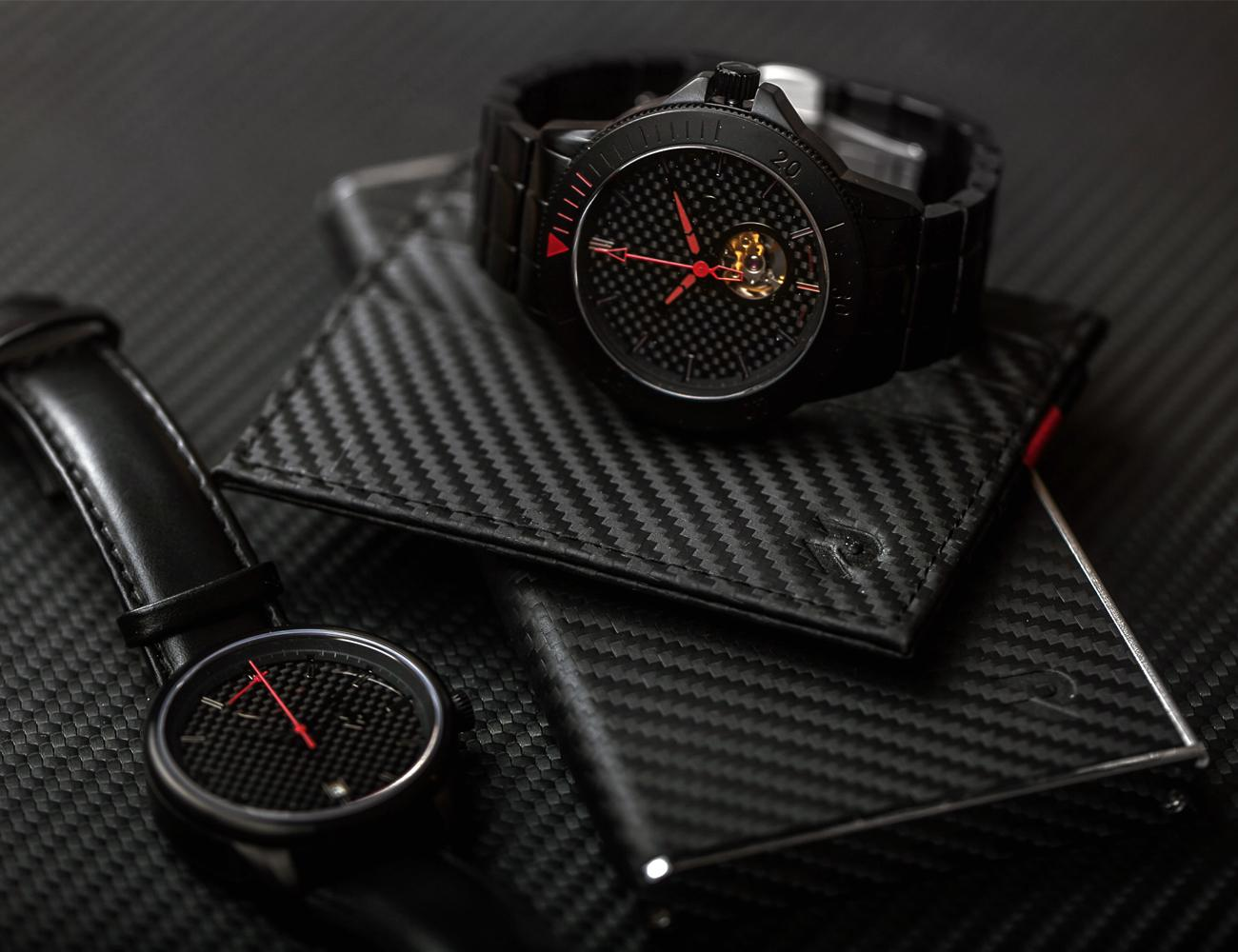 Auto+%26%238211%3B+Automatic+Watch+Series+Inspired+By+Carbon+Fiber