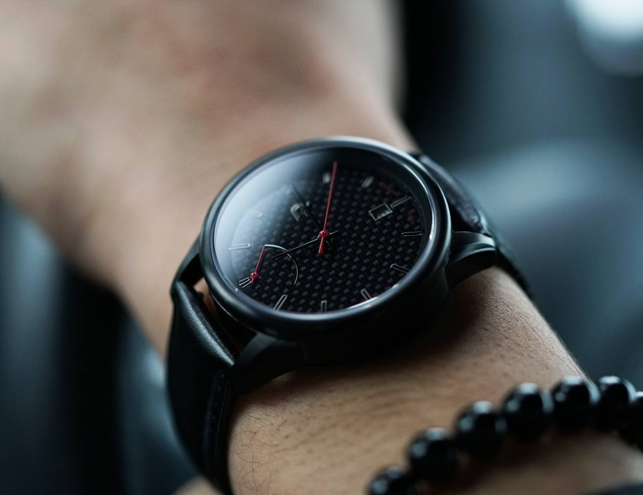 Auto – Automatic Watch Series inspired by Carbon Fiber