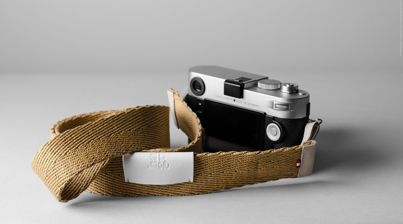 Blend Leather Camera Strap By Hardgraft