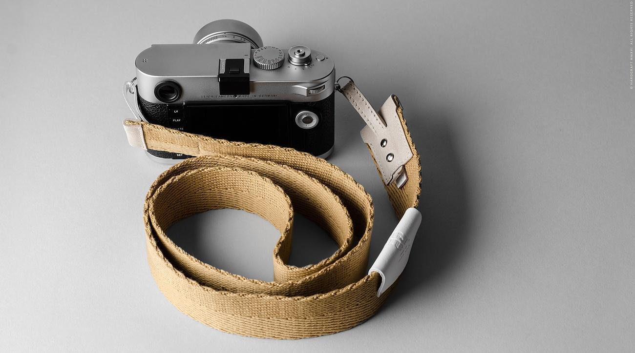 Blend Leather Camera Strap By Hardgraft