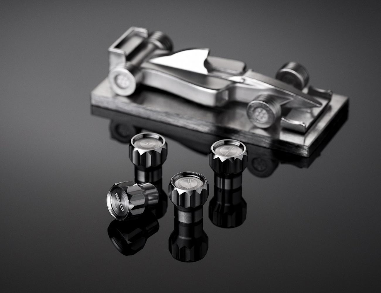 Coeus Titanium Valve Caps For Cars By Solloshi