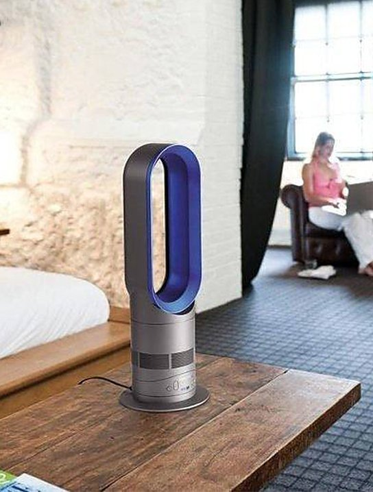 dyson am04 hot cool fan heater review the gadget flow. Black Bedroom Furniture Sets. Home Design Ideas