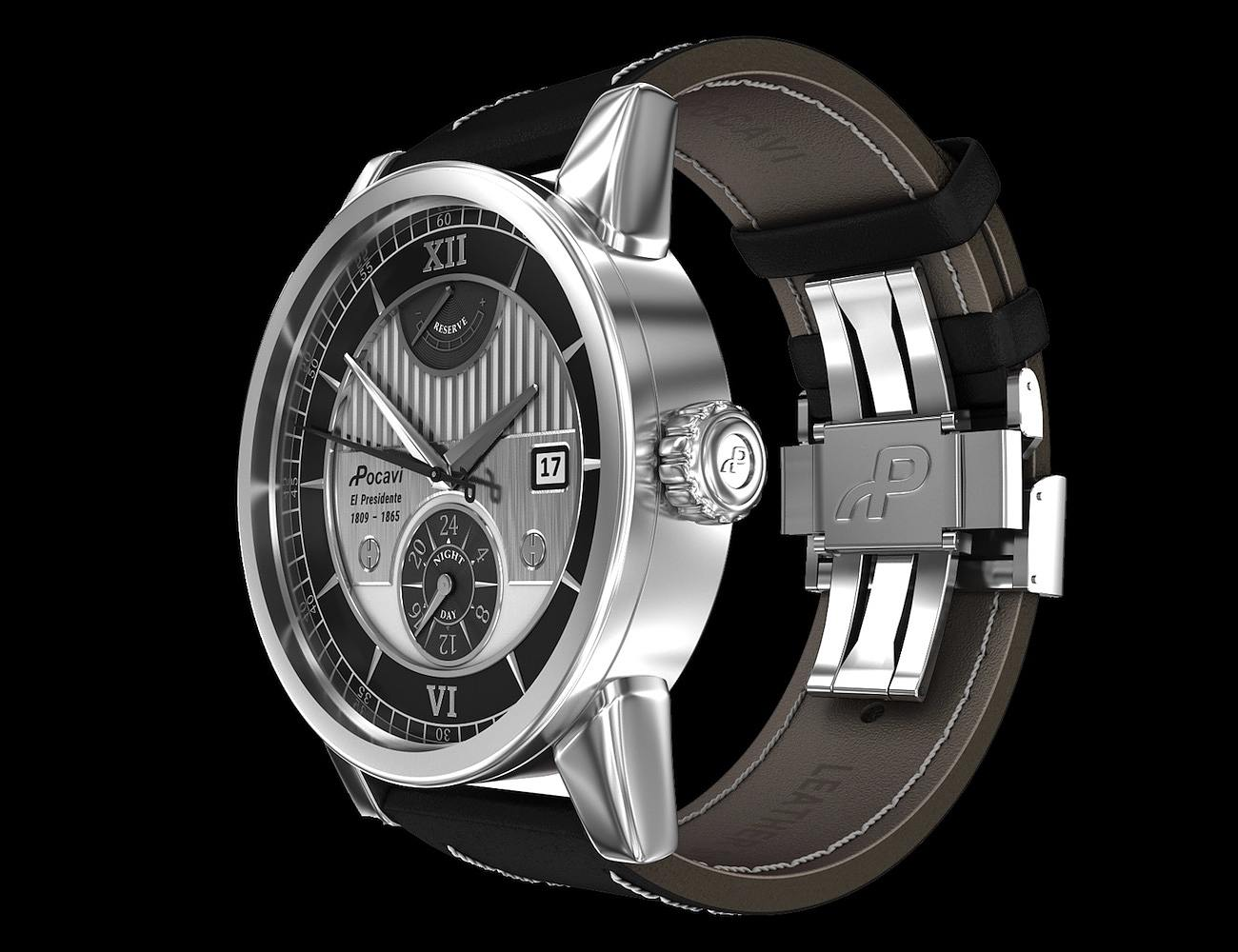 El Presidente – Lincoln Inspired Automatic Timepiece