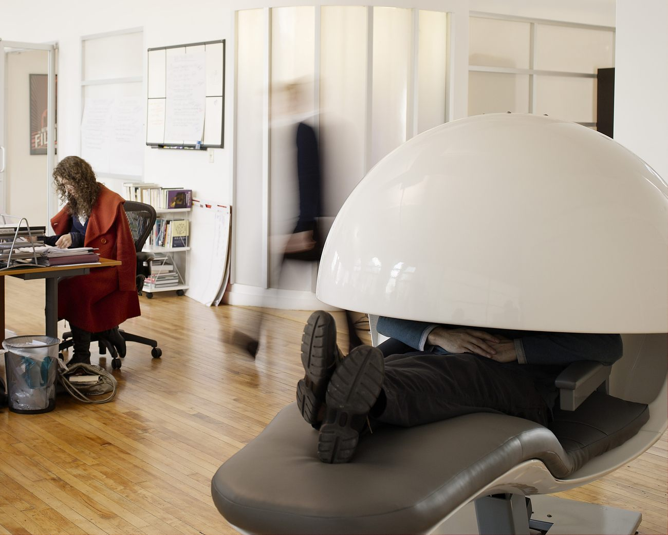 Energypod Napping Chair By Metronaps Gadget Flow